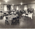 Dining room of the Fontenelle Nursing Home