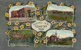 Souvenir postcard of Crawford, Nebraska, #2