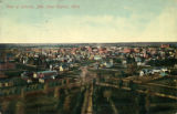 View of Lincoln, Neb. from Capitol, 1875