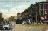 O Street East from 10th Street, Lincoln, Nebraska
