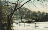 Winter scene in Hamscom Park, Omaha, Nebr.